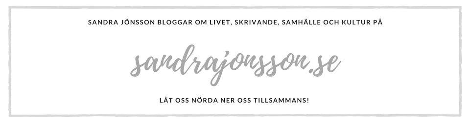 Välkommen till Sandrajonsson.se!